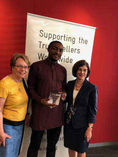 Abubakar Adam Ibrahim on receiving the Michael Elliot Award for Excellence in African Storytelling