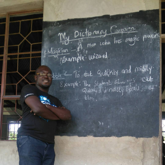 UbuntuFM | Richard Ali at a government school in Ngongare, Tanzania